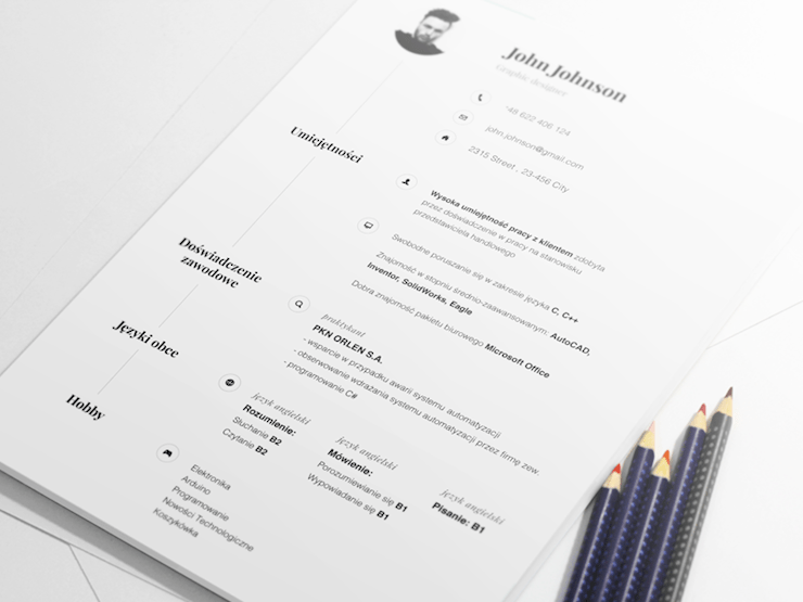 michael resume designs