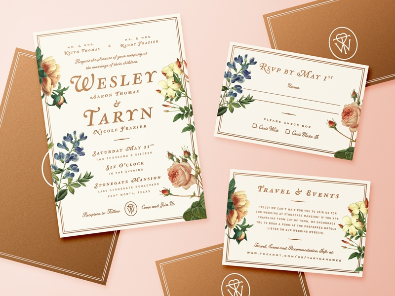 20 Gorgeous Wedding Invitation Designs 2018