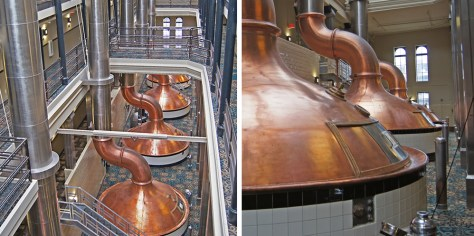 Copper Kettles at the Old Pabst Brewery