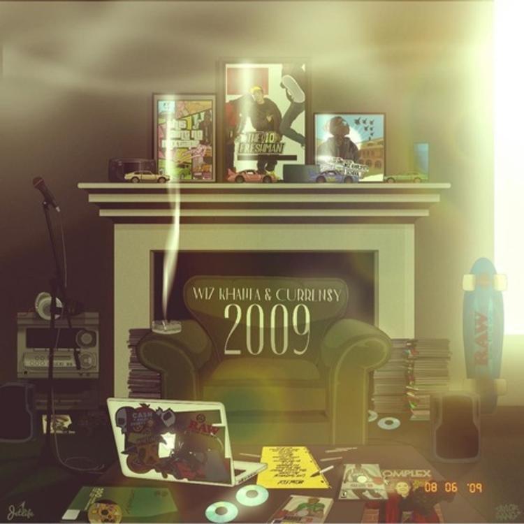 """Wiz Khalifa & Curren$y Drop Off Joint Project """"2009"""" LP"""