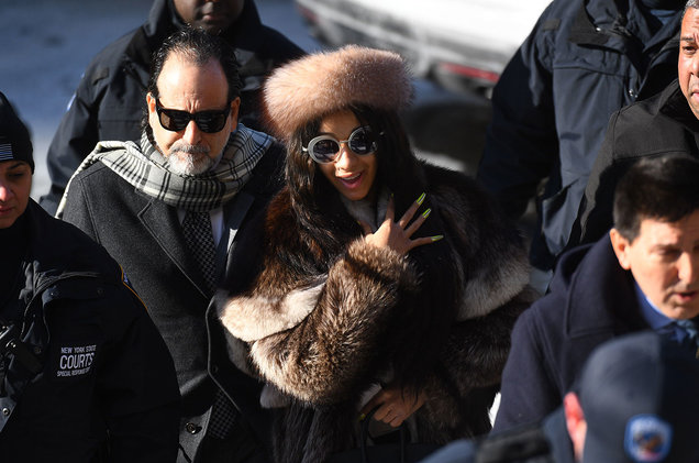 Cardi B Makes Court Appearance for Strip Club Fight