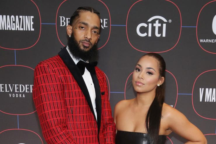 """Lauren London Posts A Touching Of Nipsey Hussle : """"Missing You"""""""