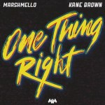 Kane Brown – One Thing Right ft. Marshmello (Audio)