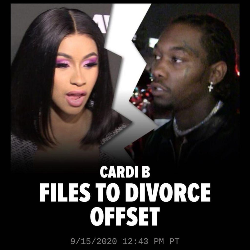 Cardi B Files To Divorce Offset
