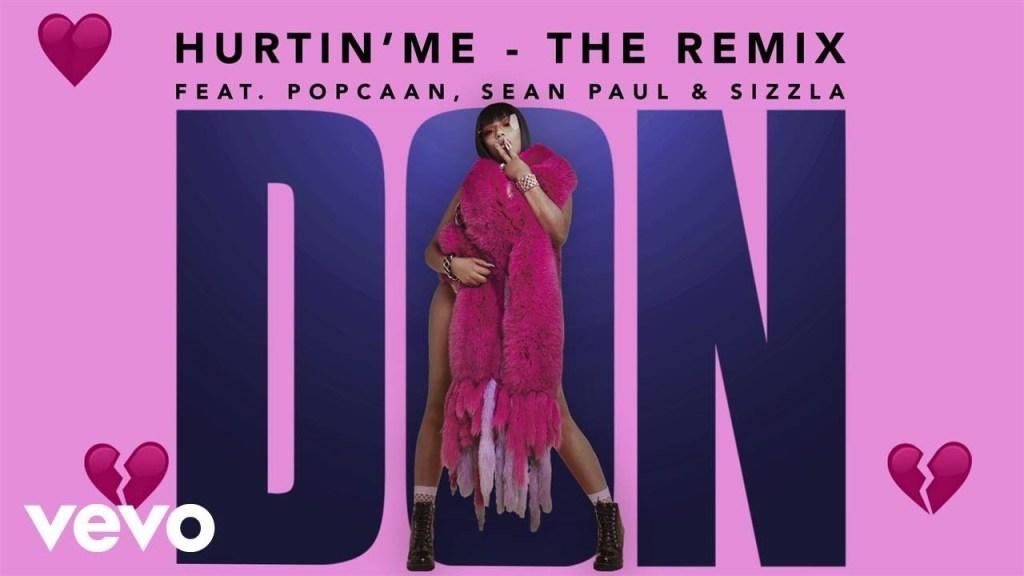 Stefflon Don  – Hurtin' Me (Remix) ft. Sean Paul, Popcaan, Sizzla