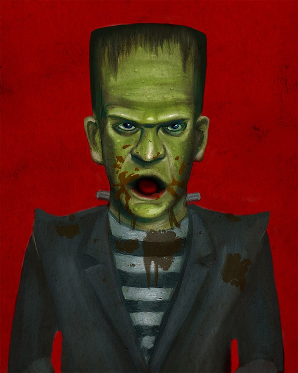 Frankenstein_Closeup