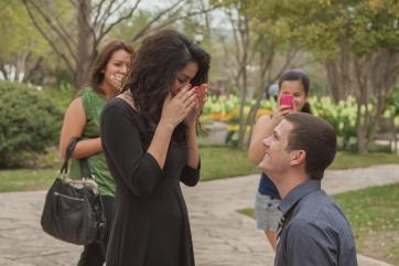 Proposal Photography by Courtney Santos of Awkward Eye Photography