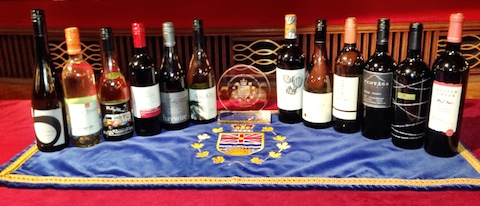 2014 Lieutenant Governor Award winners for Excellence in BC Wine