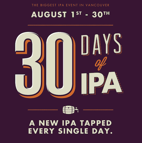 30 Days of IPA poster