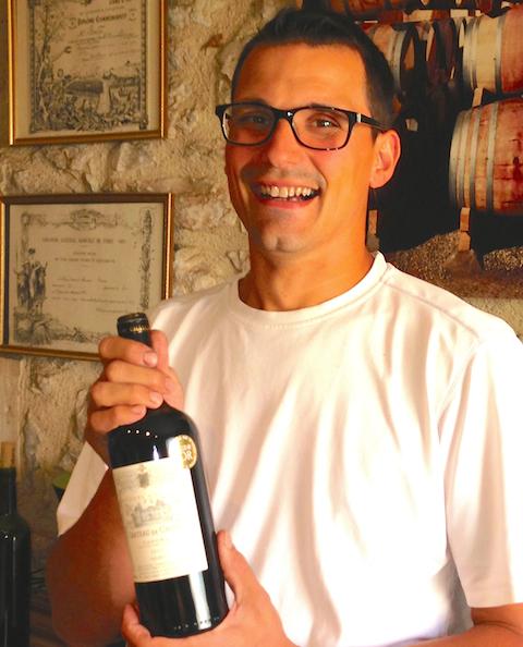 Chateau Gaudou winemaker Fabrice Durou