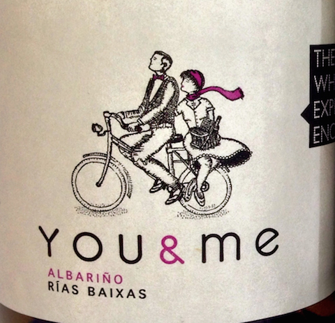 You & Me bicycle label