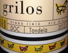 Grilos wine label