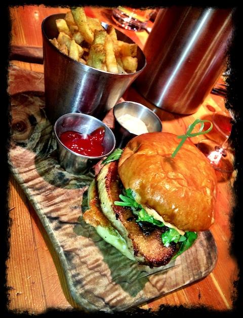 Cannibal Café Vancouver burger