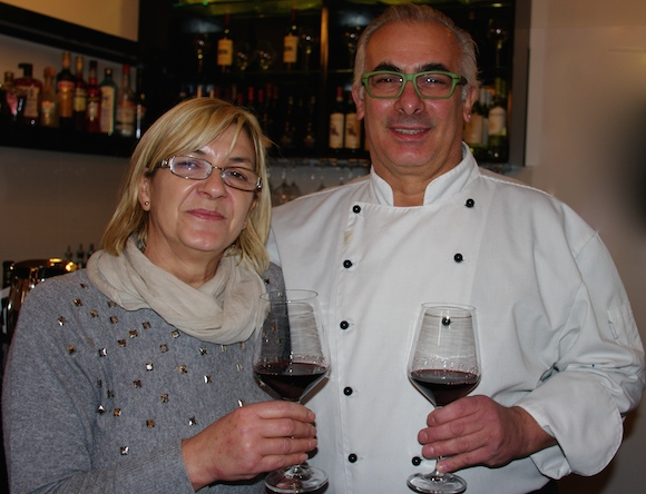 Amici Miei owners Marcella and Manrico