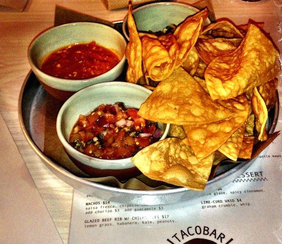 Tacofino Tacobar salsa