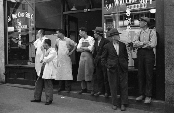 Sai Woo Chop Suey back in the day, photographed by James Crookall, source: Vancouver Archives