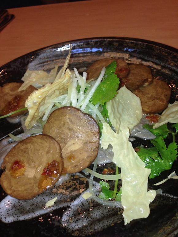 Sai Woo vegetarian sausage