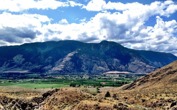 Similkameen Valley viewed from Fairview Road