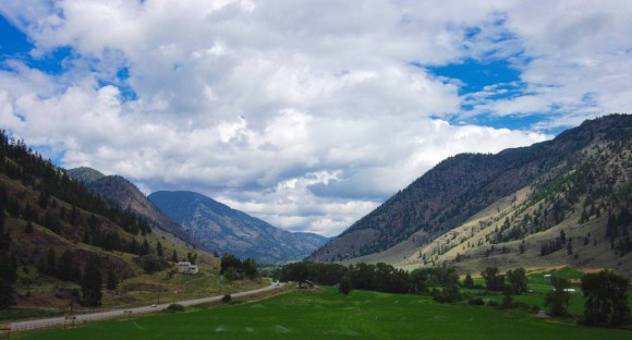 Climb the tower at Tree to Me to enjoy this stunning Similkameen view