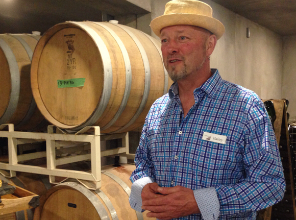 Blue Grouse winemaker Bailey Williamson
