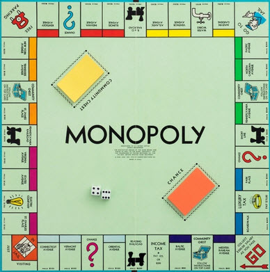 best fit college like the monopoly board game