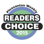 Pleasanton Readers Choice Award 2015