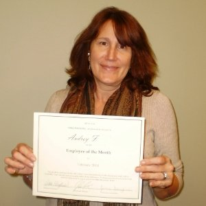 Congrats Audrey! Caregiver of the Month - February 2014 Hired Hands Homecare - Sonoma