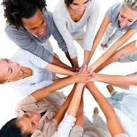 Hands in for Teamwork in Santa Rosa