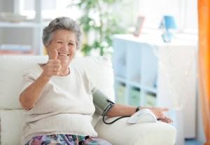 blood pressure home care