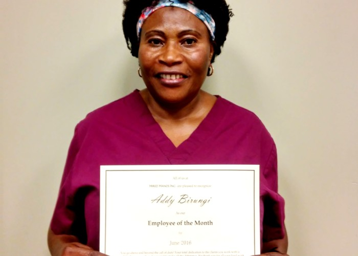 Santa Rosa's Caregiver of the Month