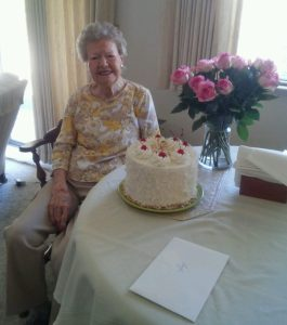 Sonoma Client Gayle Celebrates Her 100th