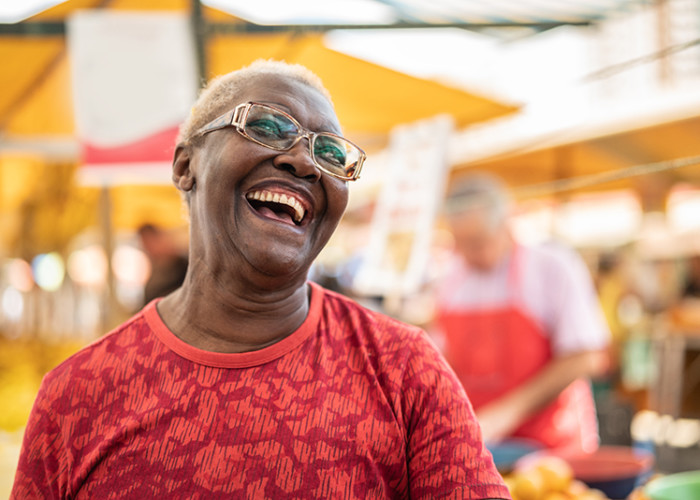 A Key Component of Exercises for Seniors: Laughter!