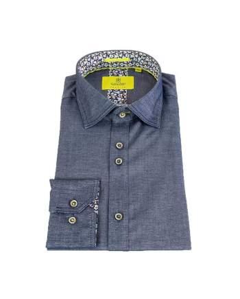 Cavani Hudson Mens Blue Shirt - M - Shirts