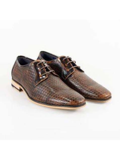 Cavani Rex Tan Formal Shoe - UK7 | EU41 - Shoes