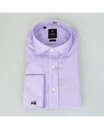Cavani Rossi Mens Lilac Shirt - Shirts