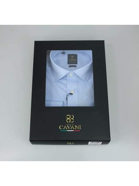 Cavani Rossi Mens Sky Blue Shirt - UK 14.5 | EU 37 - Shirts