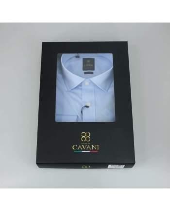 Cavani Rossi Mens Sky Blue Shirt - UK 14.5   EU 37 - Shirts