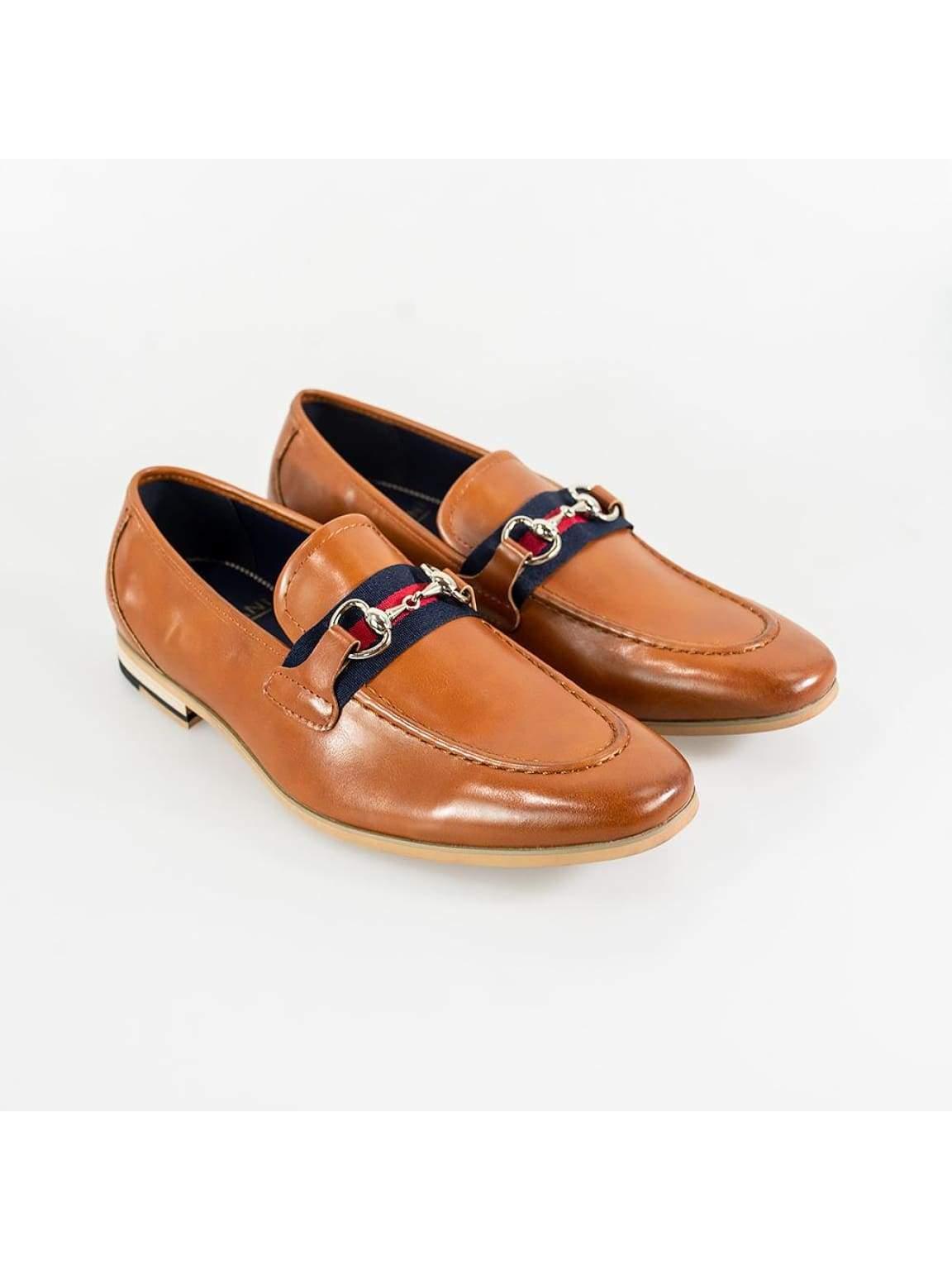 Cavani Yale Mens Tan Loafer - UK7 | EU41 - Shoes