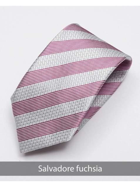 Heirloom salvadore Mens Fuchsia Stripped Tie - Accessories