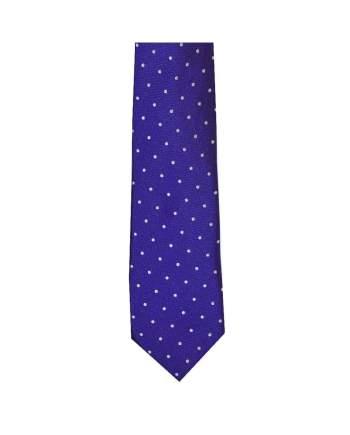 LA Smith Purple And White Skinny Polka Dot Tie - Accessories