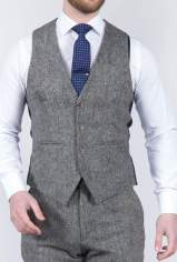 torre-mens-grey-100-wool-donegal-tweed-waistcoat-36r-50-off-suit-tailoring-menswearr-com_927