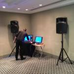 Gold karaoke office party hire