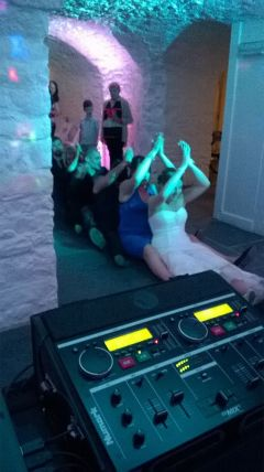 Mobile Disco Party with DJ Hired