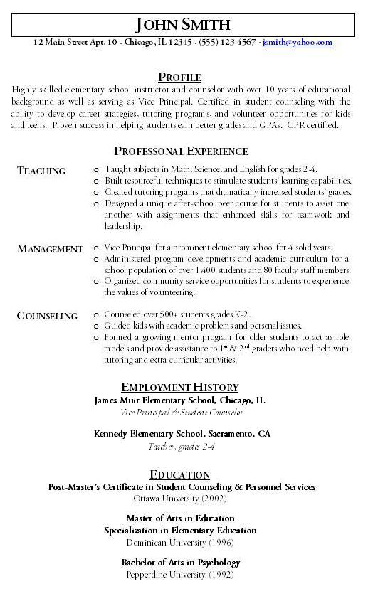 Updated Resume Format For Teachers. Resume Engineer Resume Updated