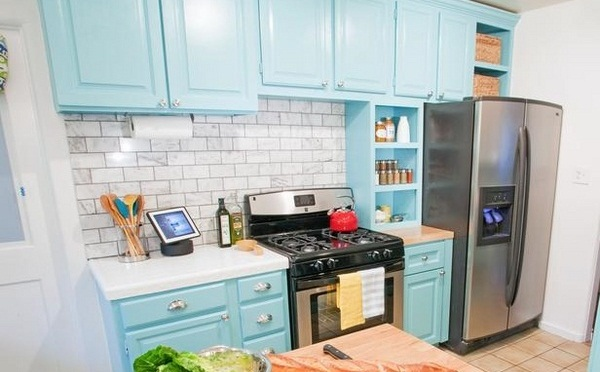 kitchens with painted cabinetsPainting Kitchen Cabinets Blog  Nrtradiantcom