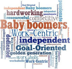 Baby Boomer Word Cloud