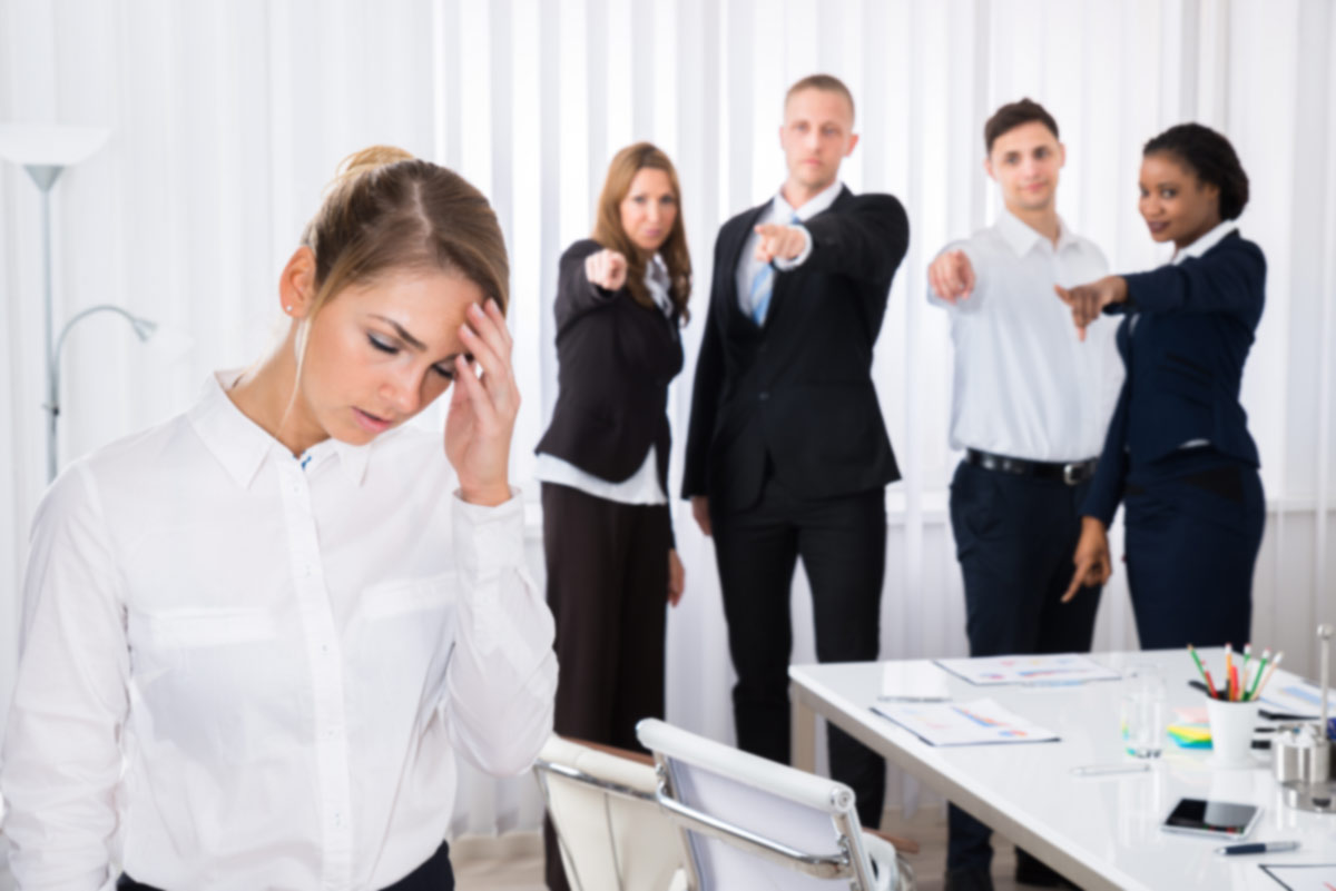 Have You Been A Victim Of Bullying At Work?