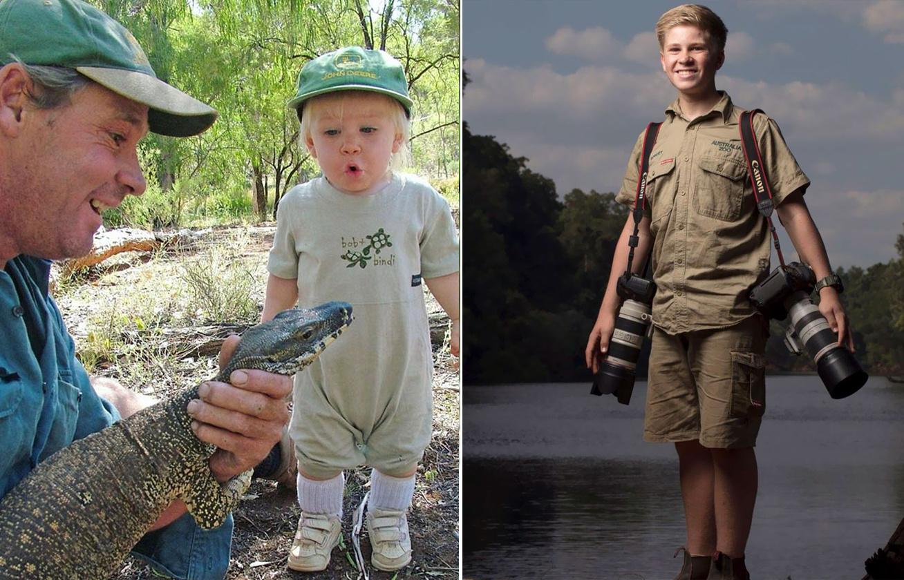 Csak 14 éves, de már díjnyertes fotós az elhunyt Krokodilvadász fia 1