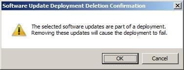 Deletion Confirmation
