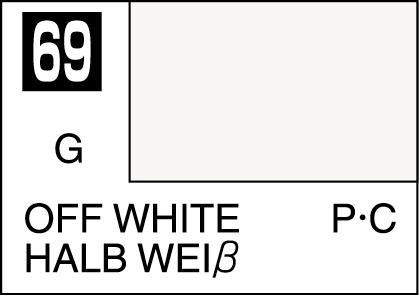 Mr Color Paint Off White 10ml C069 Gsi C 069 Gunze Sangyo Mr Hobby